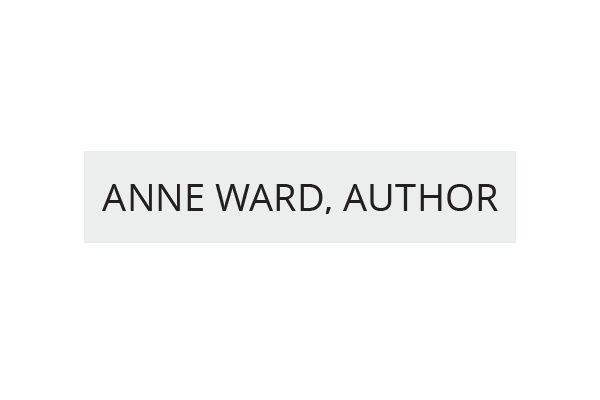 Anne-Ward-Author