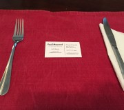 Placemat and card